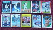 1973 ~ Lot of 10 Different FRANK TANANA Baseball Cards ~ Detroit Tigers
