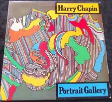 HARRY CHAPIN Portrait Gallery LP
