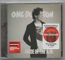 One Direction Made in the A.M. Target Exclusive Louis Tomlinson Cover Artwork CD