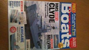 Model Boats Magazine February 2015 (Sorry - No Plan) but Jetex Bluebird article