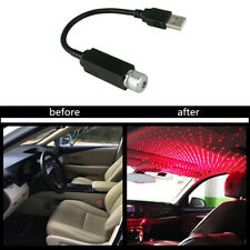 NEW Car Atmosphere Lamp Interior Ambient Star Light LED USB Projector Starry Sky