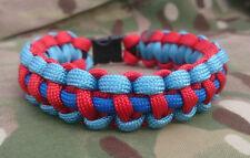 Forces Armées Britanniques Help for Heroes Inspiré Handmade Paracord 550 Bracelet