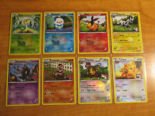 LEAGUE Pokemon SNIVY+TEPIG+OSHAWOTT+WATCHOG Card BLACK and WHITE Set 1-15-27/114