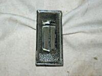A Vintage Chrome Crown Logo Pillar Badge for XY Ford Fairmont 351 ARDIDB-54-517B