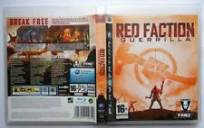 RED FACTION GUERRILLA PS3 PAL UK EDITION