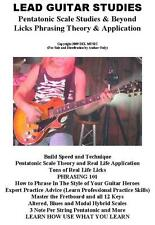 Lead Guitar Lessons E Book on CD Rock Blues Lead Licks Theory Tab Zeppelin etc.