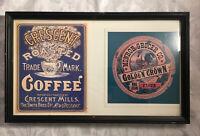 Vintage New Orleans Brands Original Posters  Crescent Coffee Monroe Grocer Flour