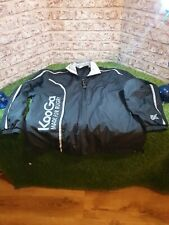 Kooga Made For Rugby Training Coaching Jacket Black Rainproof Breathable