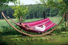 Amazonas Starset candy – Weatherproof hammock and wooden stand set