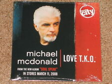 MICHAEL MCDONALD Love T.K.O. - Circuit City PROMO CD w/ Snippet! Doobie Brothers