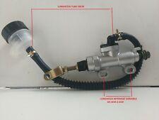 341030 Pompa freno posteriore universale con serbatoio TM MOTO
