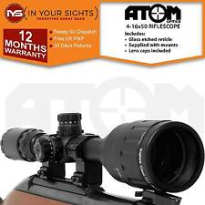 4-16x50 Rifle scope /Adjustable Objective lens Air rifle or Rimfire scope+mounts