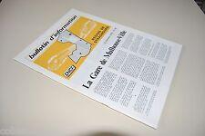 █ SNCF Bulletin d'information 26 de 1978 LA GARE DE MULHOUSE-VILLE Alsace █