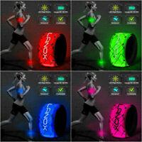 elanox LED Armband Weste Joggen, Fahrrad, Motorrad, Leuchtband, Sicherheitsband