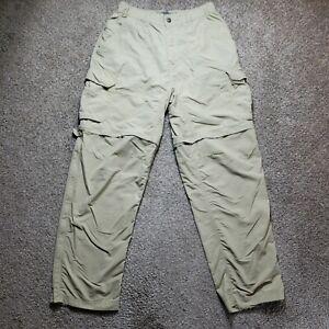 REI  Womens Convertible Nylon Hiking Outdoors Tan Pants Size Medium