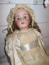Antique German Heubach Koppelsdorf 250-7 Doll Bisque Composite 30 in.