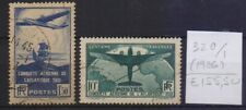 ! France 1936.  Stamp. YT#320/321. €155.50 !