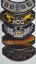 2014,2015,2016,2017,2018  HOG Harley Davidson Patches Brand New