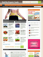 ORGANIC FOODS FOR HEALTH WEBSITE & STORE WITH AFFILIATE OPTIONS & NEW DOMAIN