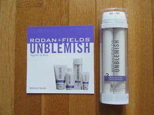 RODAN + FIELDS UNBLEMISH: #3 DUAL INTENSIVE ACNE TREATMENT, SEALED $102, 02/23