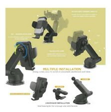 Qi Wireless, Auto Clamping, Ir Sensor, Car Charger w/ multiple attachments!