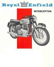 New listing Royal Enfield Interceptor Motorcycle Overhaul Manuals for 736 Repair & Service