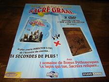 MONTY PYTHON - Publicité de magazine SACRE GRAAL !!!!!!!!!!