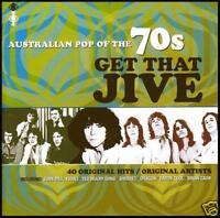 70's (2 CD) GET THAT JIVE - AUSTRALIAN POP OF THE 70's - Volume 1 *NEW*