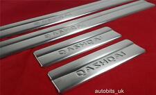Cromo 4 Puertas Repisa cubre Acero Inoxidable Para Nissan Qashqai 2007-2013 Nuevo En Caja