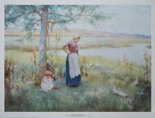 In The Water Meadows - Alfred Glendening - 50 x 66cms vintage poster print