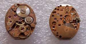 TISSOT Watch Movement Swiss Made Caliber 5638581 17 Jewels For Parts or Repair