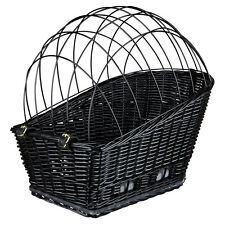 Cesta de perro PARA BICICLETA Traseras Portaequipajes Negro XL 35x49x55cm
