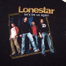 Lonestar Let'S Be Us Again Country Concert Tour Tee T Shirt Sz Mens L