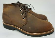 Red Wing Foreman Marron Cuivre Chukka 9219 Bottes Homme Chaussures Taille 7 D