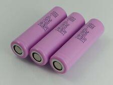 3x Samsung Batteria 3000mAh INR18650-30Q / 3.6V-3.7V / 15A / 5C / >2,5V / 4,2V