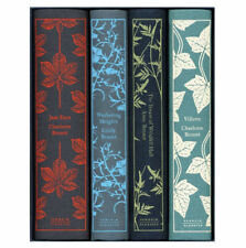 Penguin Classics Bronte Sisters Clothbound Hardcover Boxed Set (4 Books) New