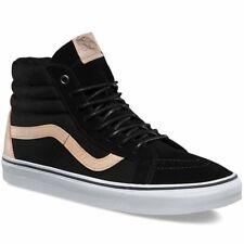 Vans Sk8 Hi Reissue (Veggie Tan) Black Skate Shoes Men's Size 8