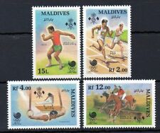 Maldive Islands 1988 Seoul Olympics MNH set S.G. 1286-1289