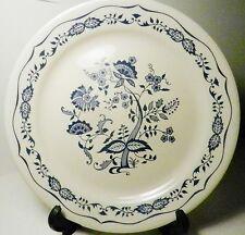 "Vintage Blue Onion Old Town Blue Corelle 10 1/4"" Dinner Plates Set of 3"