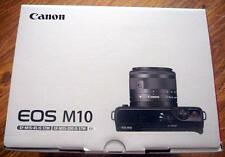 NEW Canon EOS M10 Mirrorless Black EF-M15-45 IS & EF-M55-200 IS STM 2 Lenses Kit