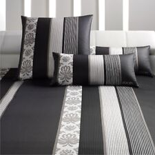 Joop Bettwäsche 135x200 cm Ornament Stripes schwarz neu Kissenbezug 80x80 cm