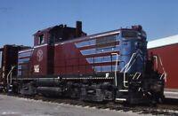 BURLINGTON JUNCTION RAILWAY Railroad Locomotive IA Original 2002 Photo Slide