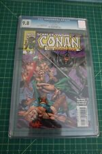 CONAN THE BARBARIAN SCARLT SWORD PART #3 CGC 9.8 NM/MT OCT 1997, WHITE PAGES