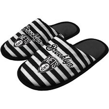 NEW Brooklyn Nets Women's Scuff Slippers Size M Medium