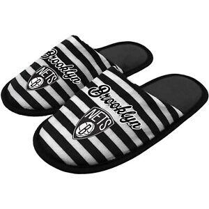 NEW Brooklyn Nets Women's Scuff Slippers Size M Medium