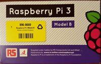 RASPBERRY PI 3 MODEL B - MADE IN UK - WiFi & BLUETOOTH-64 bit CPU MODEL 2016 NEW