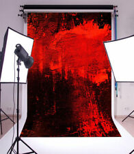 Red painted wall Photography Backgrounds 3x5ft Vinyl Photo Backdrops