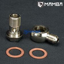 6AN to M18x1.5 Turbo Water Coolant Banjo Bolt Kit Garrett T4 T04B T04E T04R RB25