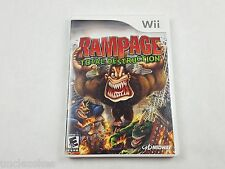 Rampage Total Destruction Nintendo Wii 2006