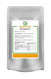 500g | Weizengraspulver | Weizengras Pulver | 100% rein | Weizengrassaft | Gras